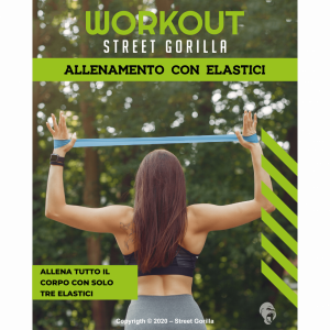 workout loop band elastici